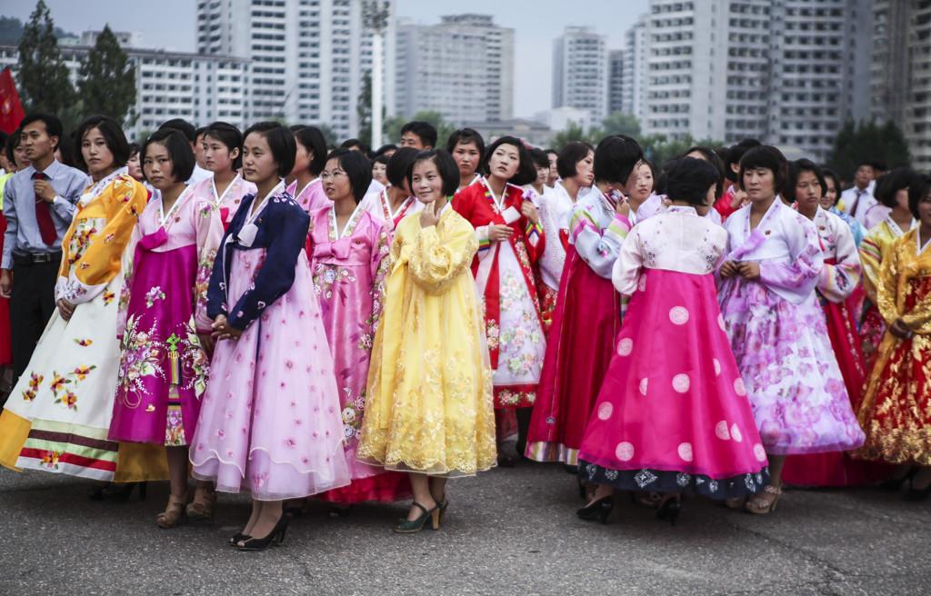 Choreography of Happiness III – North Korea